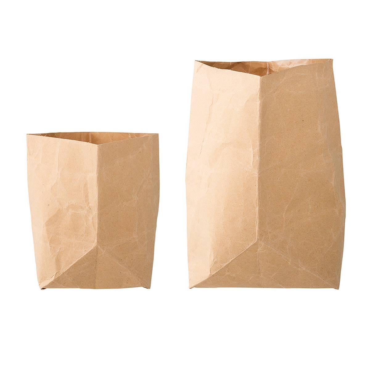 Paper Bag Natur 2. pk - Bloomingville