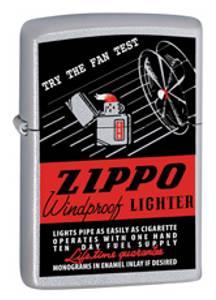 Bilde av Zippo Fan Test