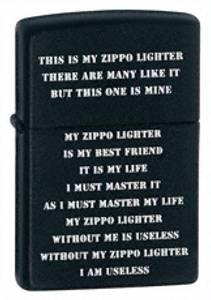 Bilde av Zippo My Zippo
