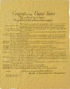 Bilde av Bill of Rights Poster