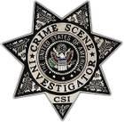 Crime Scene Investgator Badge