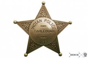 Bilde av Indian Police Badge