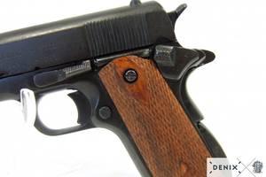 Bilde av Colt .45 1911 sort m/tregrep