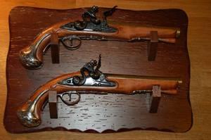 Bilde av Veggplate for våpen, treverk