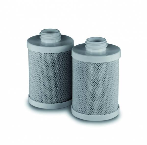 2 pack Crystal Water 5µ filterpatron
