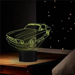 Bilde av Ford Mustang Lillegul