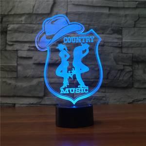 Bilde av Country Music Lamp