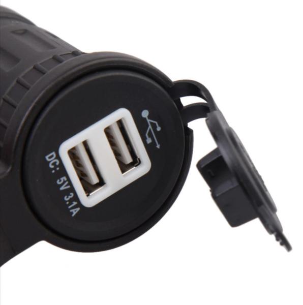 USB Lader Motorsykkel