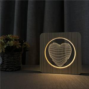 Bilde av Heart Wood Lamp