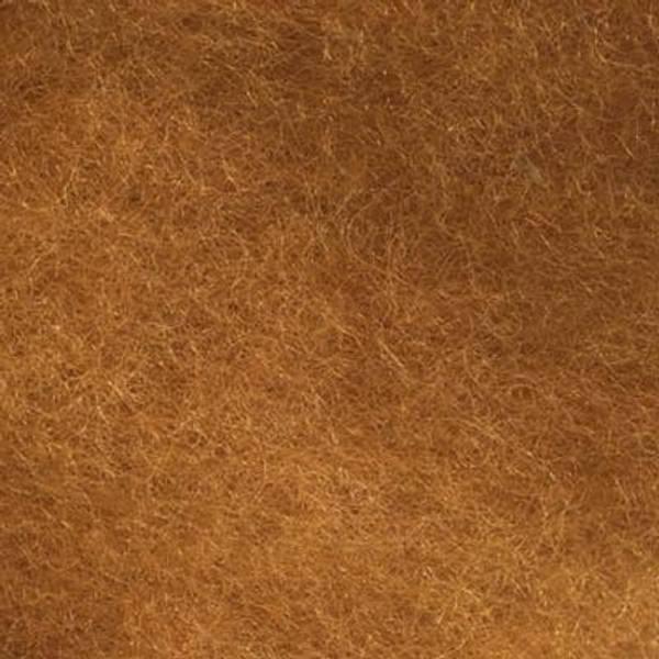 Bilde av Kardet ull, oker 100g