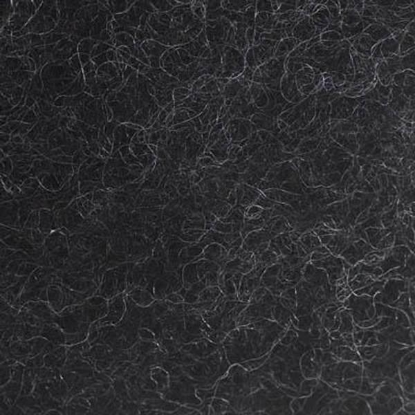 Bilde av Kardet ull, koksgrå 100g