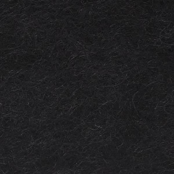 Bilde av Kardet Pelsull/C1, svart 100g