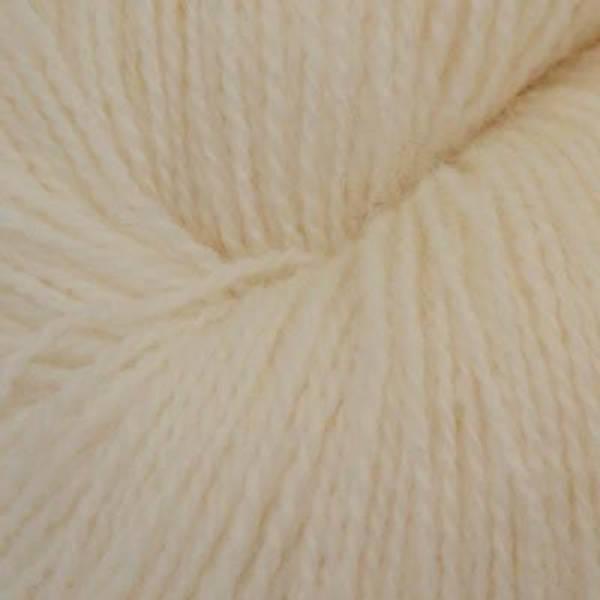 Bilde av Fjord sokkegarn 2, ubleket hvit