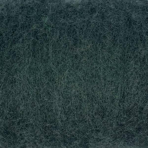 Bilde av Kardet ull, kald mørkegrønn 100g