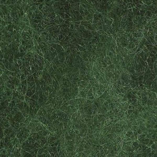 Bilde av Kardet ull, grønn 100g