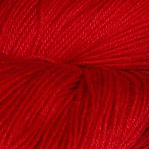 Bilde av Hjerte superwash 12/4, rød (kald)