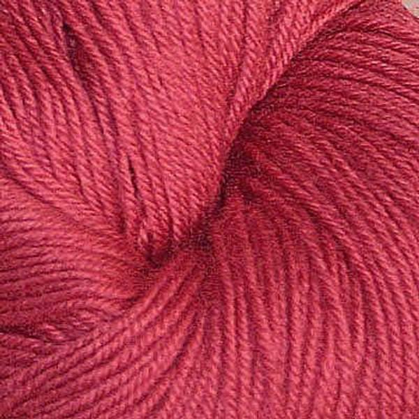 Bilde av Hjerte superwash 12/4, støvet mørk rosa