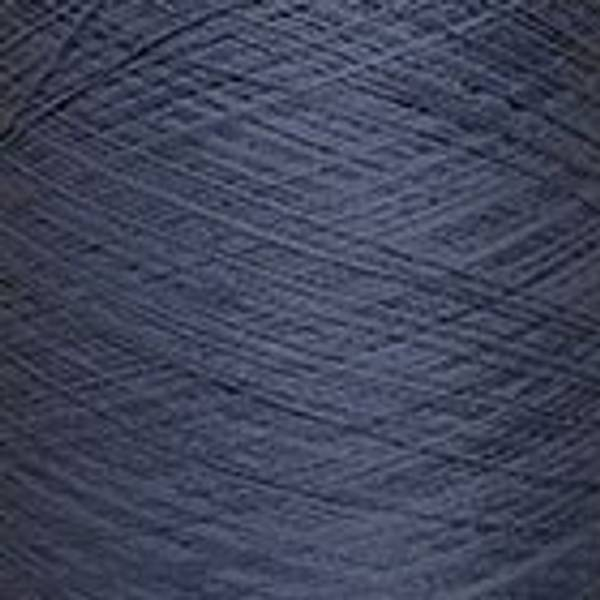 Bilde av Spun silk Nm 60/2 Stål blå