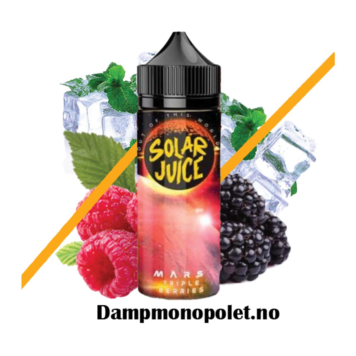 Solar Juice Mars, Triple Berries Ejuice 100/120ml