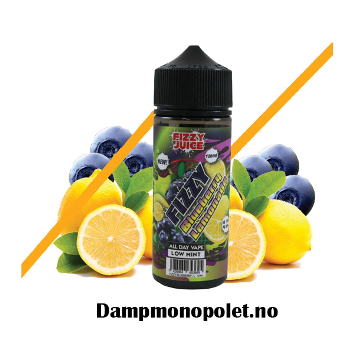 Fizzy Blueberry Lemonade, Ejuice, 100/120ml
