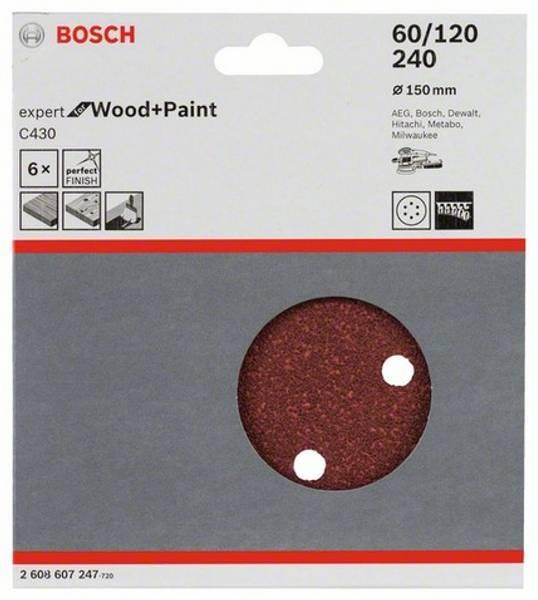 Bilde av Slipepapir Wood+Paint 3-Deler