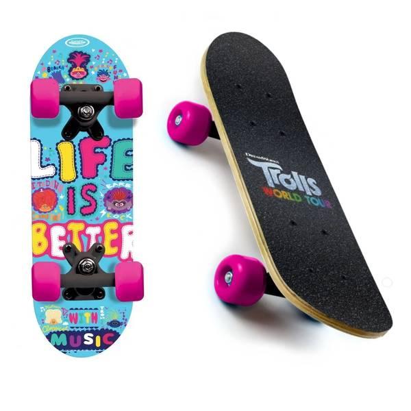 Bilde av Trolls skateboard mini