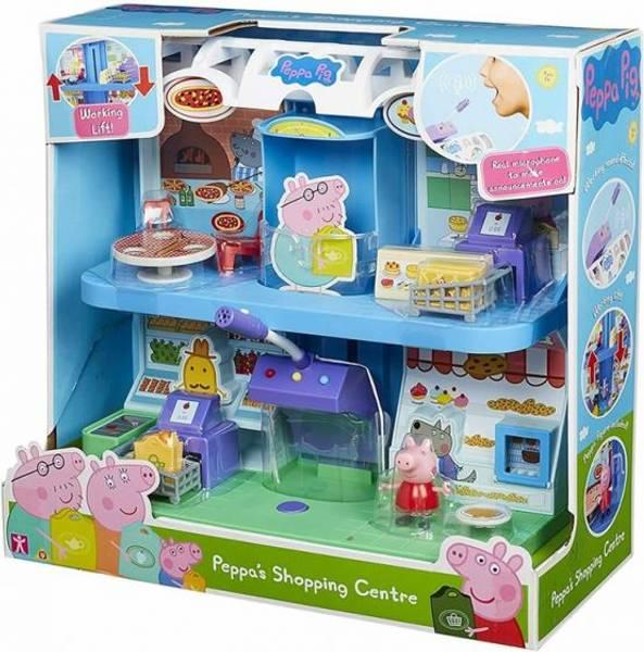 Bilde av Peppa Gris kjøpesenter lekesett med to etasjer