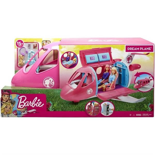 Bilde av Barbie Dreamplane Playset - stort fly 58 cm
