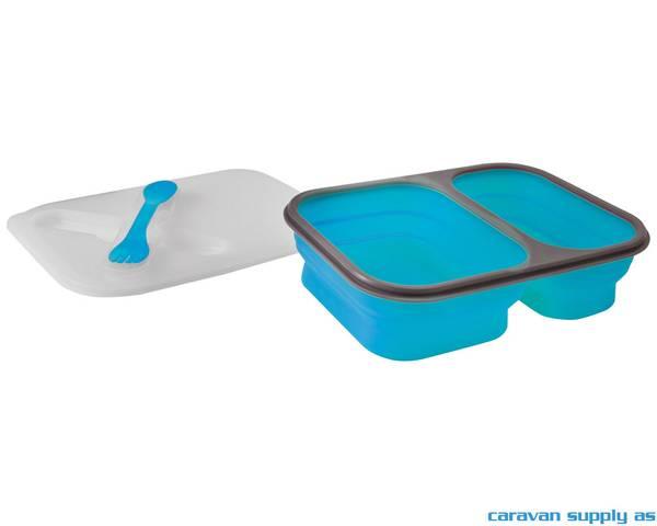 Bilde av Oppbevaringsboks Brunner Snack Box L 1,6l blå