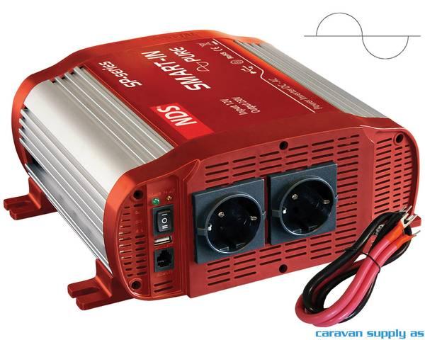 Bilde av Omformer NDS Smart-In SP1500 1500W ren sinus 12V