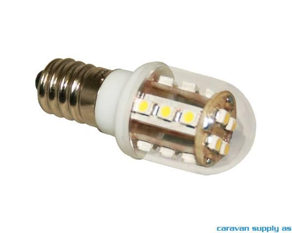 Bilde av Lyspære E14 LED 150 lumen 3W (10W) 230V 21x55mm