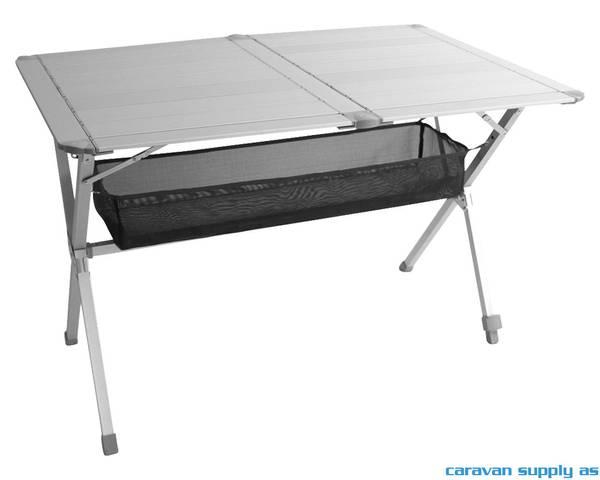 Bilde av Campingbord Titan Space 140x80x70cm lamell alu