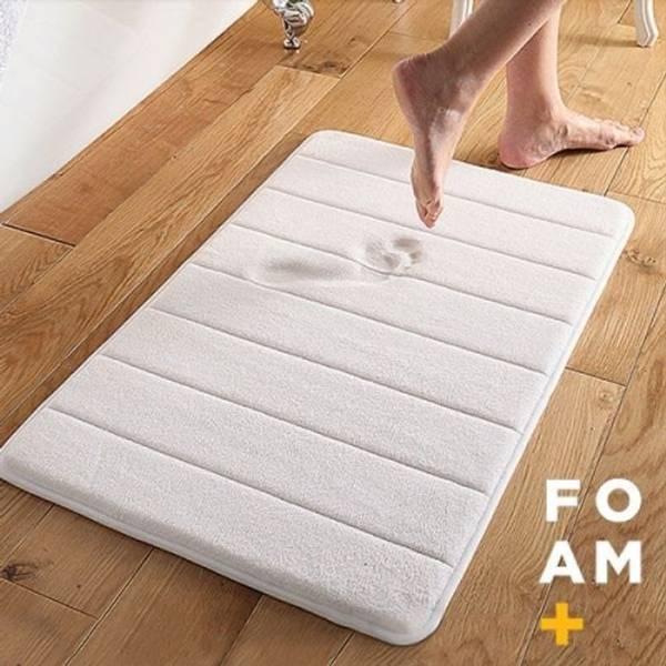 Bilde av Baderomsmatte med memory foam - vaskbar