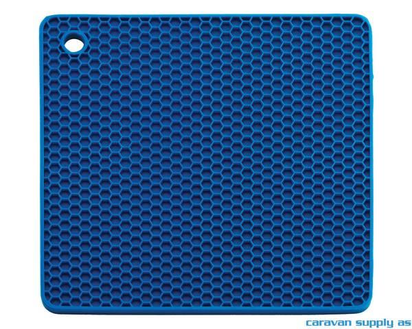 Bilde av Grytelapp LotusGrill silikon kvadrat blå