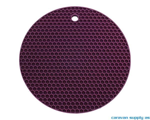 Bilde av Grytelapp LotusGrill silikon rund lilla