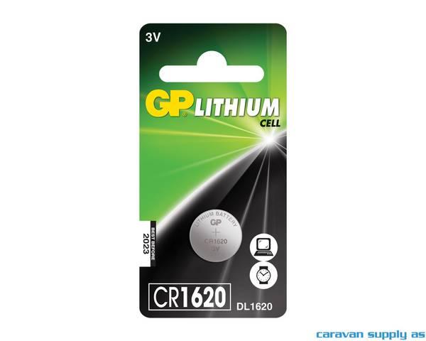 Bilde av Batteri GP Lithium CR1620 knappcellebatteri 3V