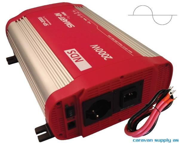 Bilde av Omformer NDS Smart-In m/IVT SP1000I 1000W ren