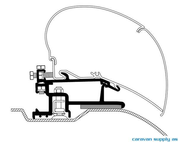 Bilde av Feste Omnistor 6/9-serie Ducato fra-07 325cm 3stk