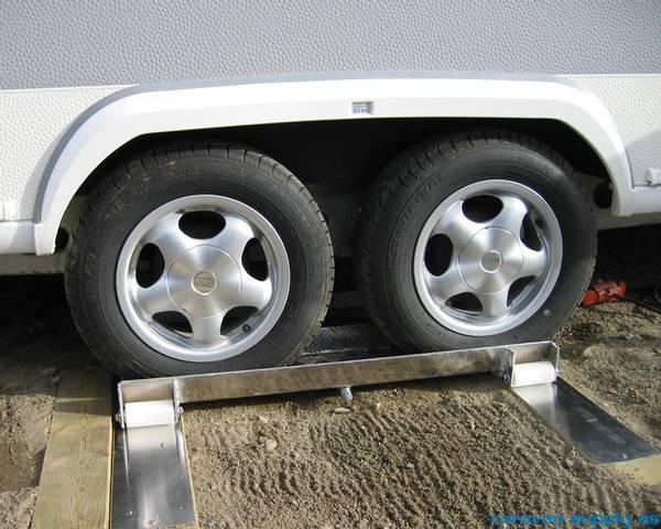Bilde av Caravan slider til enkle og boggi hjul