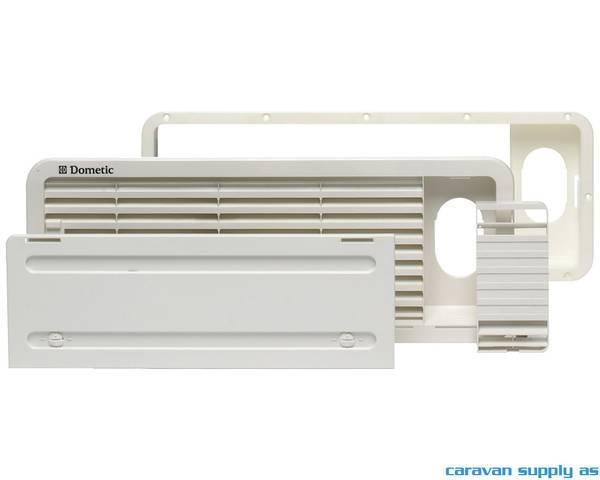 Bilde av Luftegitter Dometic LS100 oppe 479x185mm hvit