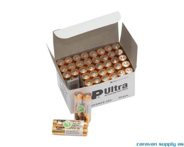 Bilde av Batteri GP Ultra LR03/AAA alkalisk 1,5V 40stk