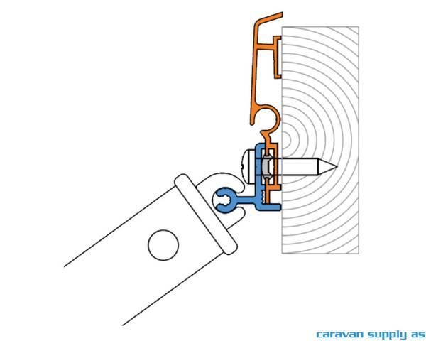 Bilde av Adapter til Thule Sport G2 W150/Hobby (Hobby14)