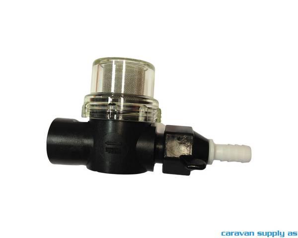Bilde av Filter til Shurflo trykkvannspumpe m/stuss Ø10mm