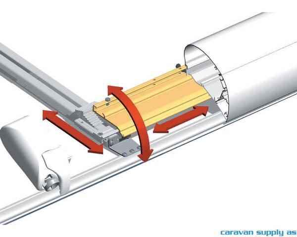 Bilde av Feste Omnistor 6/9-serie 3 mounting rails +