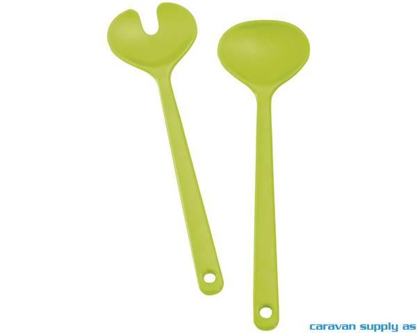 Bilde av Salatbestikk Brunner Space limegrønn