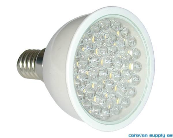 Bilde av Lyspære E14 LED 160 lumen 1,9W (15W) 12V 50x60mm