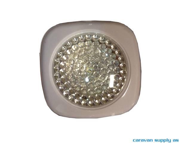 Bilde av Lampe Mini Push Light LED 3stk 3xAAA-batteri