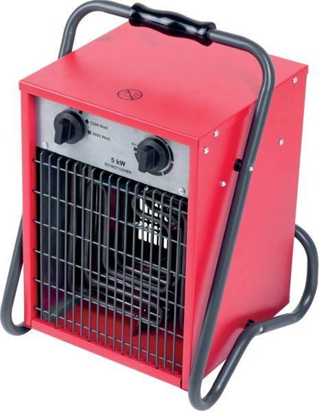 Bilde av GSA varmevifte 230V/3-fas 5000W