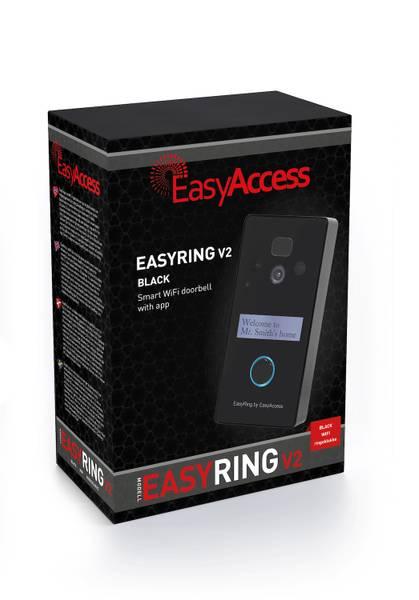 Bilde av EasyAccess EasyRing V2 ringeklokke wifi med app