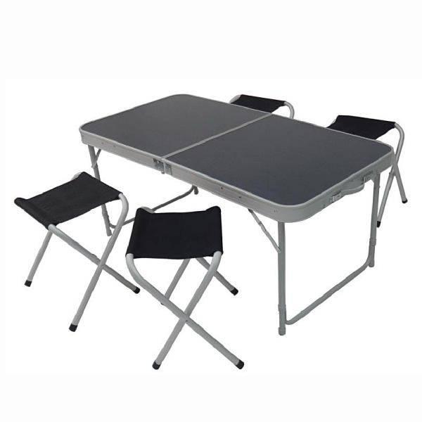 Bilde av Pikniksett bord og 4 krakker